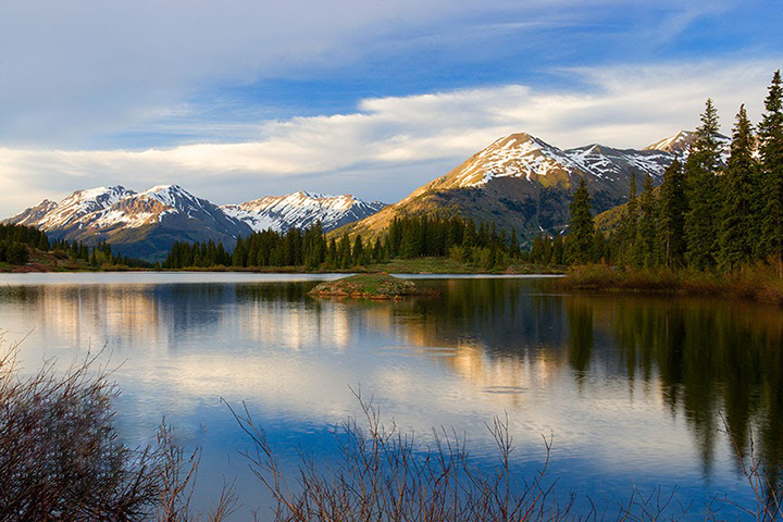 Molas Lake Twilight in Southern Colorado.  Why are we letting the world burn when we need to be saving places like this.