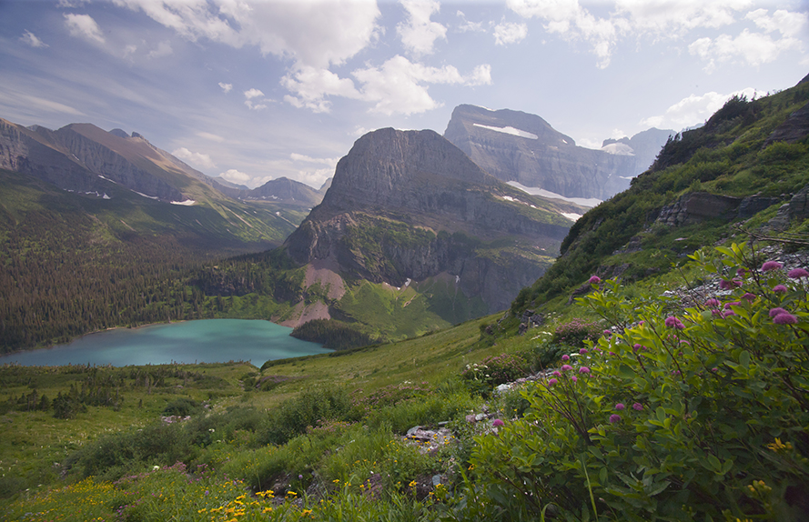 Grinnell Lake in Glacier National Park.  The future of climate change is going to be full of all kinds of difficulties.  But if places like this are to survive we are going to have to overcome them.