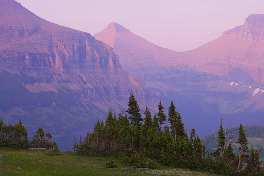 Last light in Glacier National Park.  Unfortunately Trump is winning online and this will be very bad news for places like this.