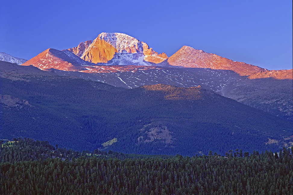 Long's Peak in Rocky Mountain National Park