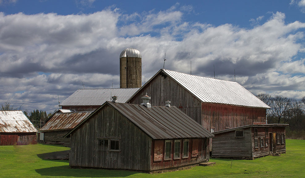 Barns in New York State
