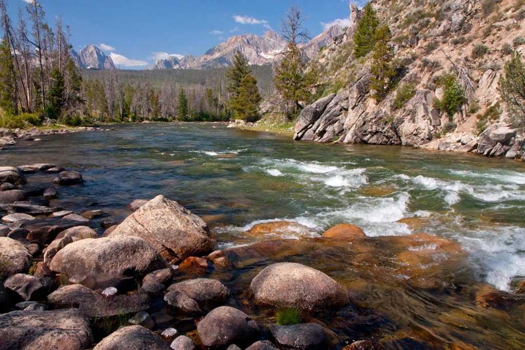 The Upper Salmon River in Idaho.   Is Facebook an unbeatable political tool?  If so, places like this may not survive much longer.