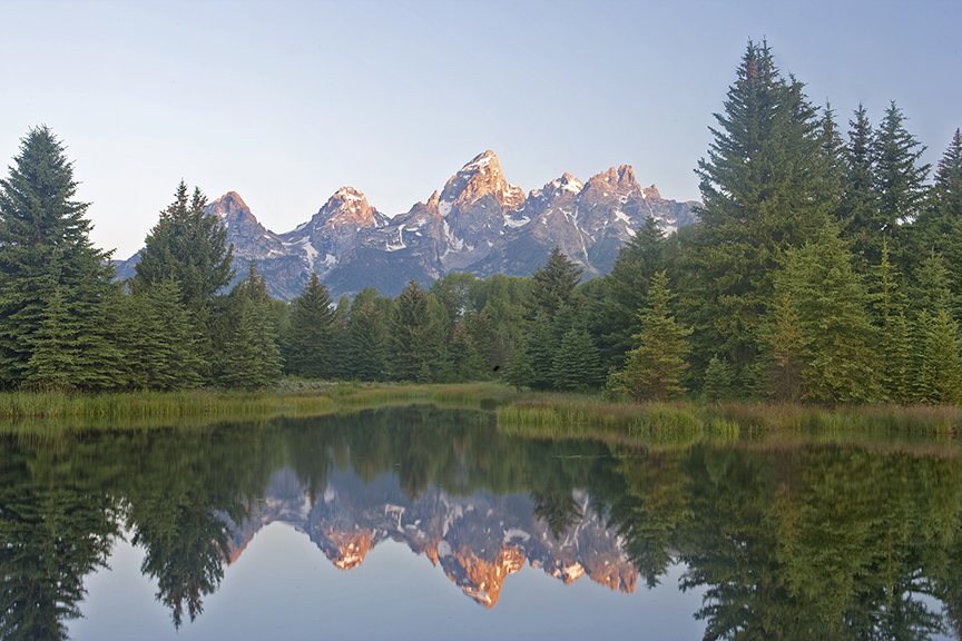 The Tetons in Teton National Park in Wyoming.  There are millions and millions of acres of forest like this that will go up in flames if we do nothing now.  I for one cannot stand the thought of losing forest like this.