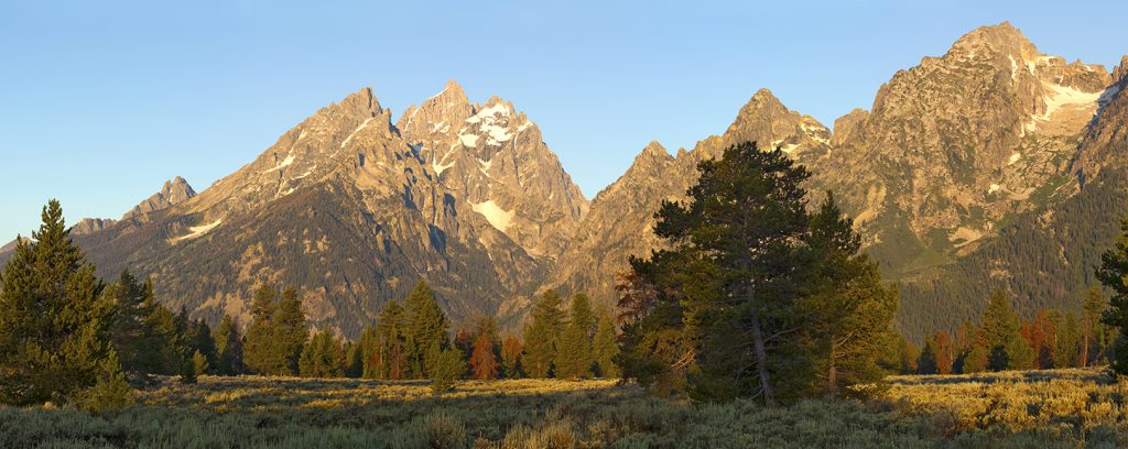 The Tetons in Wyoming