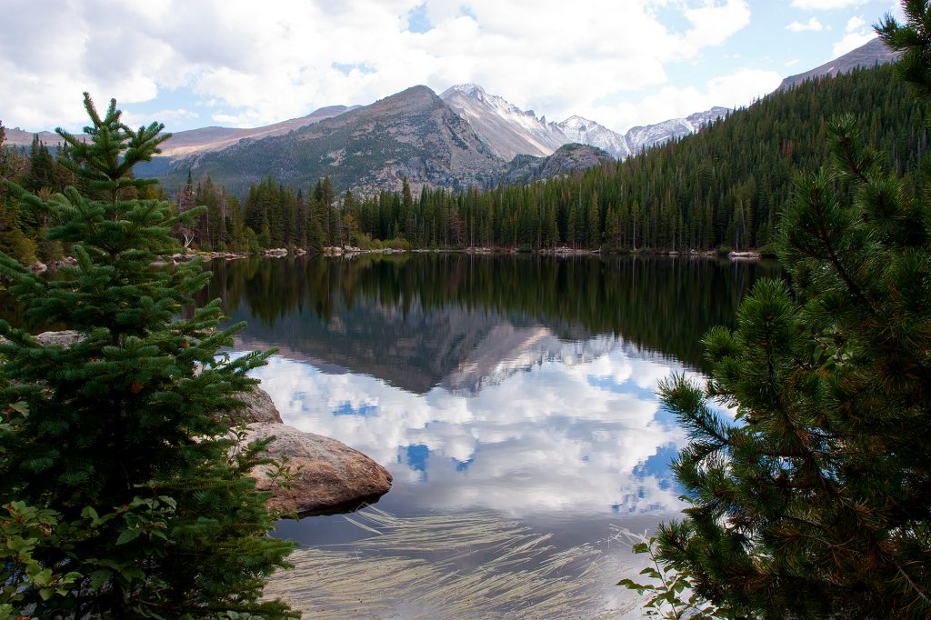 Bear Lake in Rocky Mountain National Park in Colorado