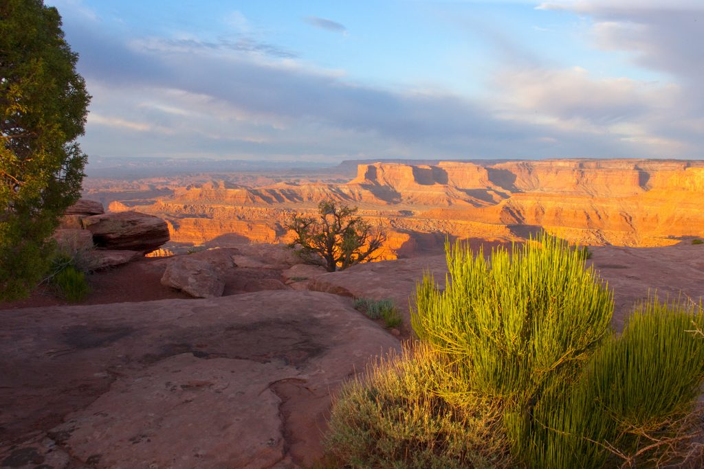 Canyonlands National Park, Utah.  Cheer up with a free screen saver of this image.