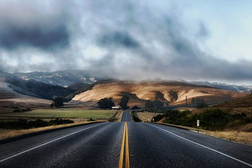 California highway.  The future of climate change is going to be full of all kinds of difficulties.  But if places like this are to survive we are going to have to overcome them.