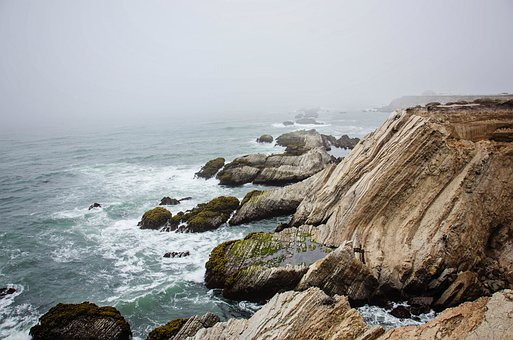 Along the California coast, as it has always been.