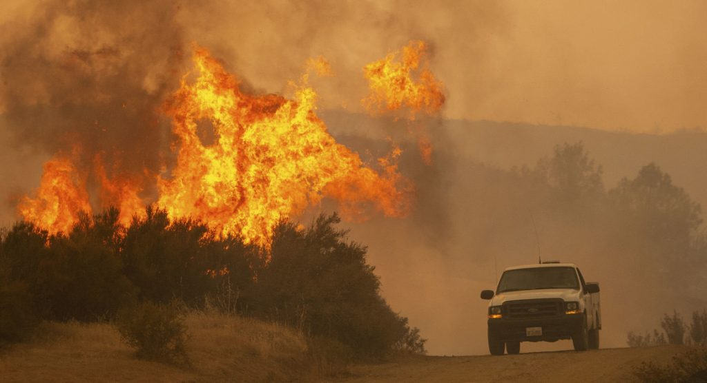 The Kincaid Fire.  California fires are a warning of what a warming world has in store for us.