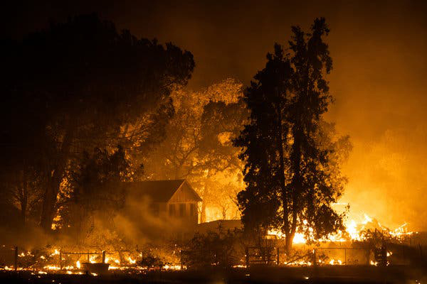 Hundreds of acres of California have burned in the last three or four years, along with houses and towns.  Hopefully we still have some years yet before the end of California.