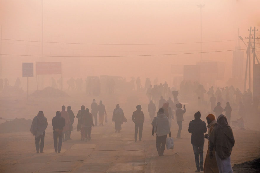 This is Delhi, India on a very bad day.  If we don't start to fix our air in the US, it too could look like this someday.   Even slightly smokey air is dangerous.  Air like this is deadly