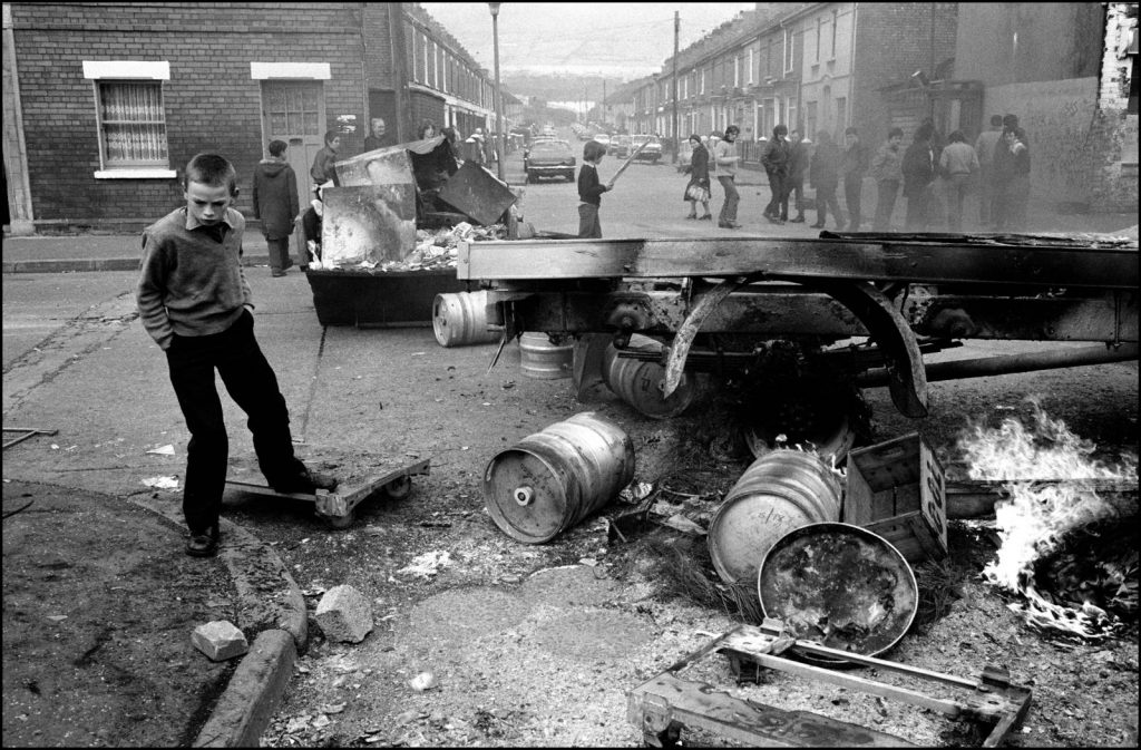 Here is another picture of Northern Ireland from the same period.  There is a lot of evidence that many of  the kids that grew up in this period were damaged for life.  What a strange world we now live in
