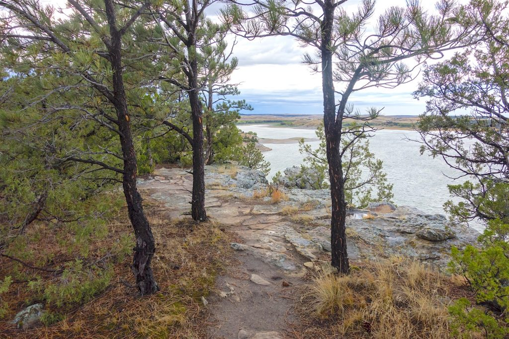 Glendo Lake Overlook in Wyoming.  This post is about Youthful misadventures: Living the Good Life.  But as usual, I illlustrate it with images of natural America.  Living the good life was always about living in natural America.