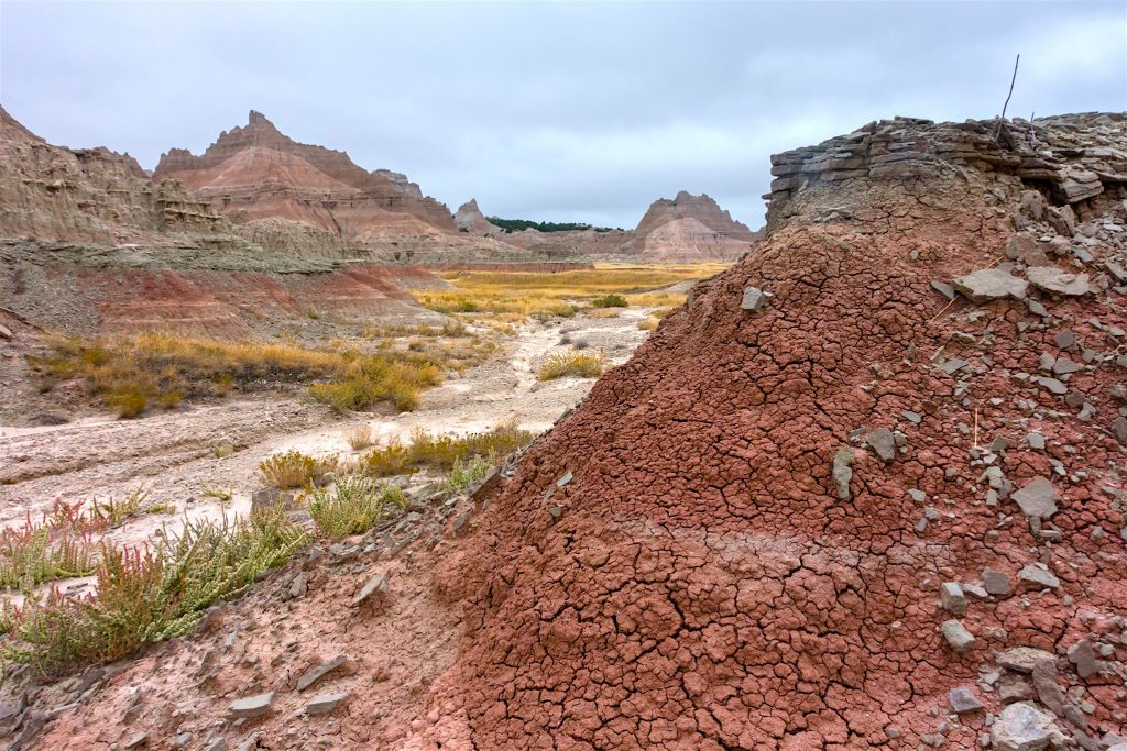 Badlands National Park in South Dakota.  This post is about Youthful misadventures: Living the Good Life.  But as usual, I illlustrate it with images of natural America.  Living the good life was always about living in natural America.