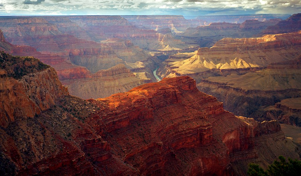 The Red Wall in Grand Canyon.