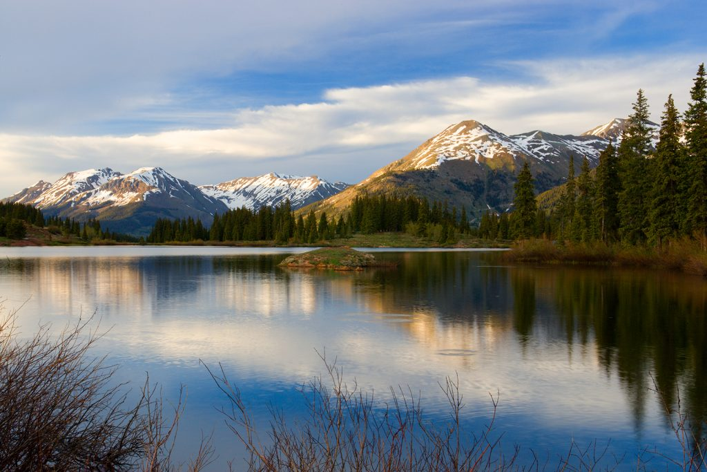 Molas Lake near Durango, Colorado.   It may appear that this post, Ill fares our nation, Part 3, has little to do with this picture, but actually it does.  The end of real healthcare in America is caused by the same forces that are ending beautiful natural areas like this.