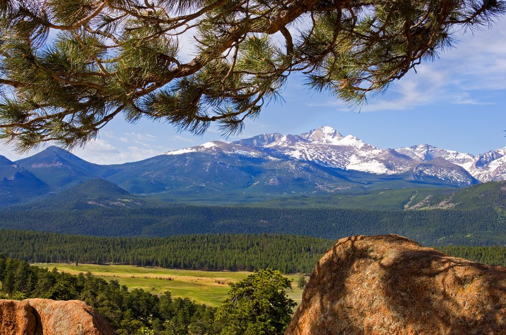 Long's Peak as seen from Rocky Mountain National Park.   Are wars inevitable?  We can choose our our history and save places like this if we try hard enough.