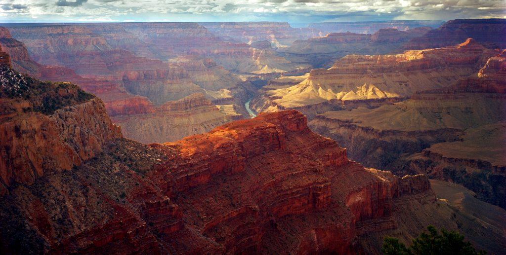 Grand Canyon in Arizona.  It may be that the Republican Party is cutting its own throat.  That can only be good for places like this.