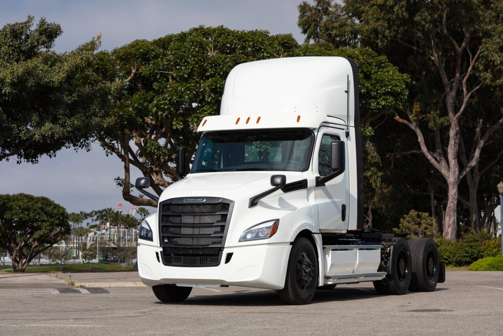 Daimler's Freightliner eCascadia electric truck will go into series production in 2021.