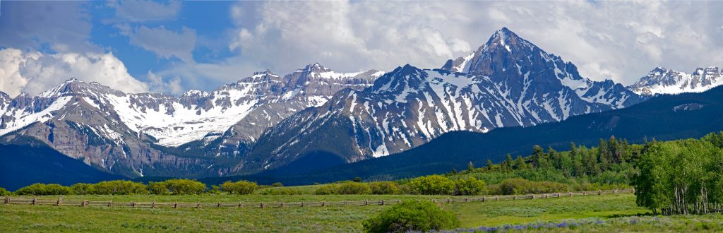 San Juan Range in CO.  Their irreversibility is why tipping points are so scary.