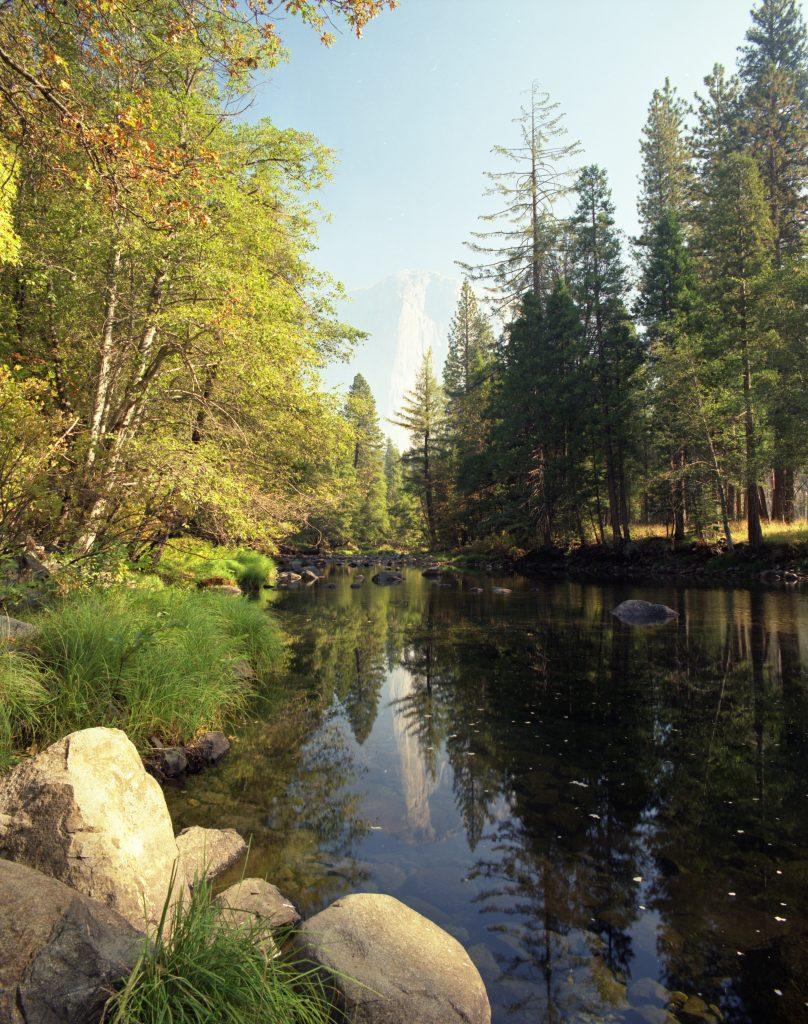 Merced River and Pool in Yosemite National Park.   Is big oil lying to us about zero-emissions?  If so, this could prevent us from saving places like this.