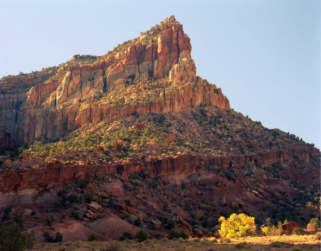 Capital Butte in Capital Reef National Park.  This post is about Youthful misadventures: Living the Good Life.  But as usual, I illlustrate it with images of natural America.  Living the good life was always about living in natural America.