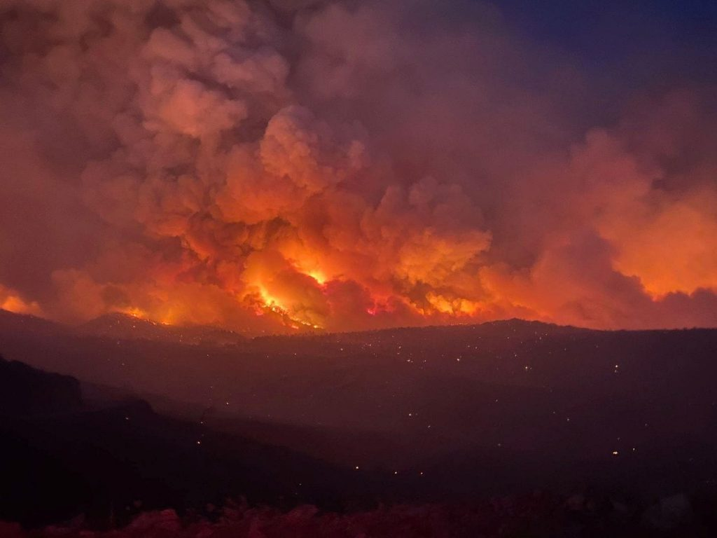 Smoke-rises-from-a-wildfire-in-Arizona-on-June-7.-There-are-several-wildfires-burning-throughout-the-state-partially-due-to-a-dry-monsoon-season.  Why are we letting the world burn?